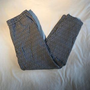 H&M pants patterned